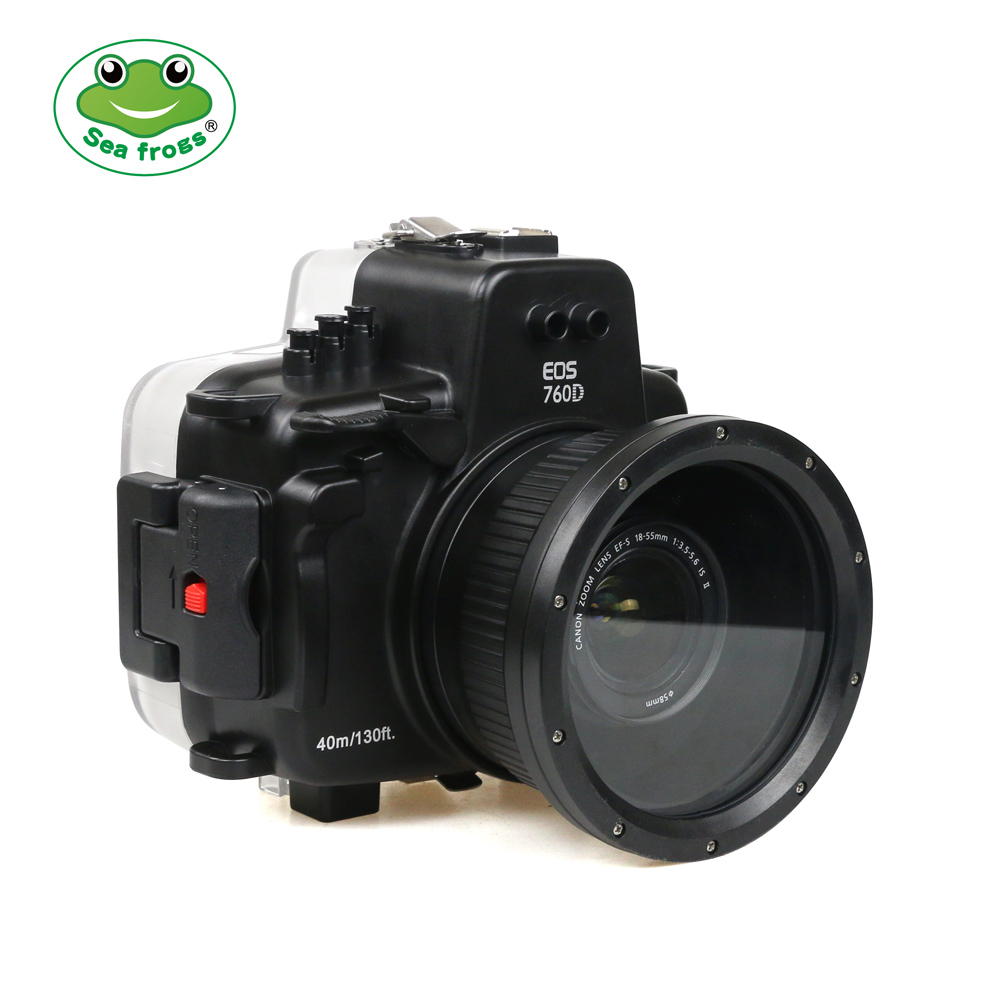 Sea Frogs 760D Kit с портом 18-135 для Canon EOS 760D EF-S 18-135