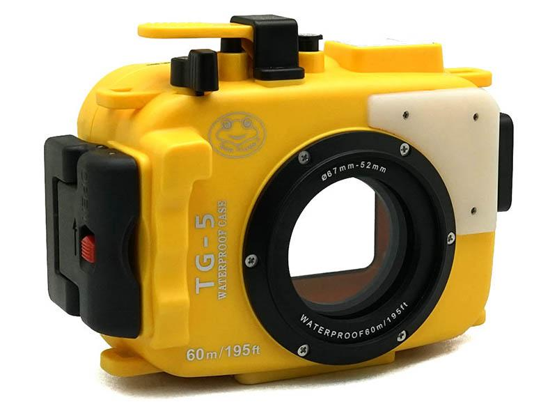 Sea Frogs TG-5/TG-6 yellow подводный бокс для Olympus Tough TG-5/TG-6