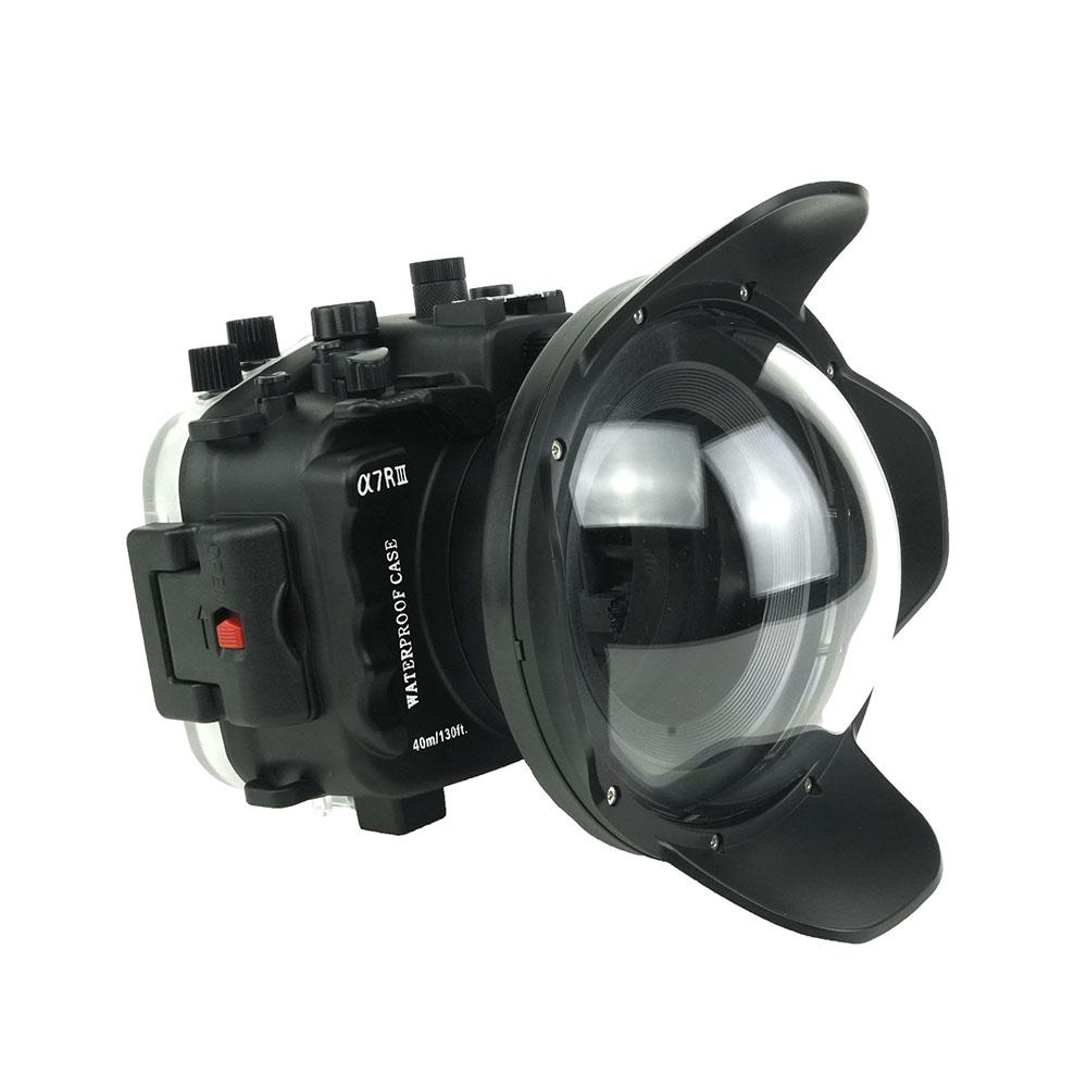 Sea Frogs A7 III black + WDP155/100 T1 подводный бокс для Sony A7III с портом под обьектив 12-24