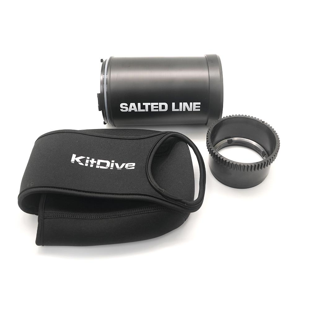KitDive Salted Line Flat Port Type-2x for SEL 55-210, порт под объектив SEL 55-210