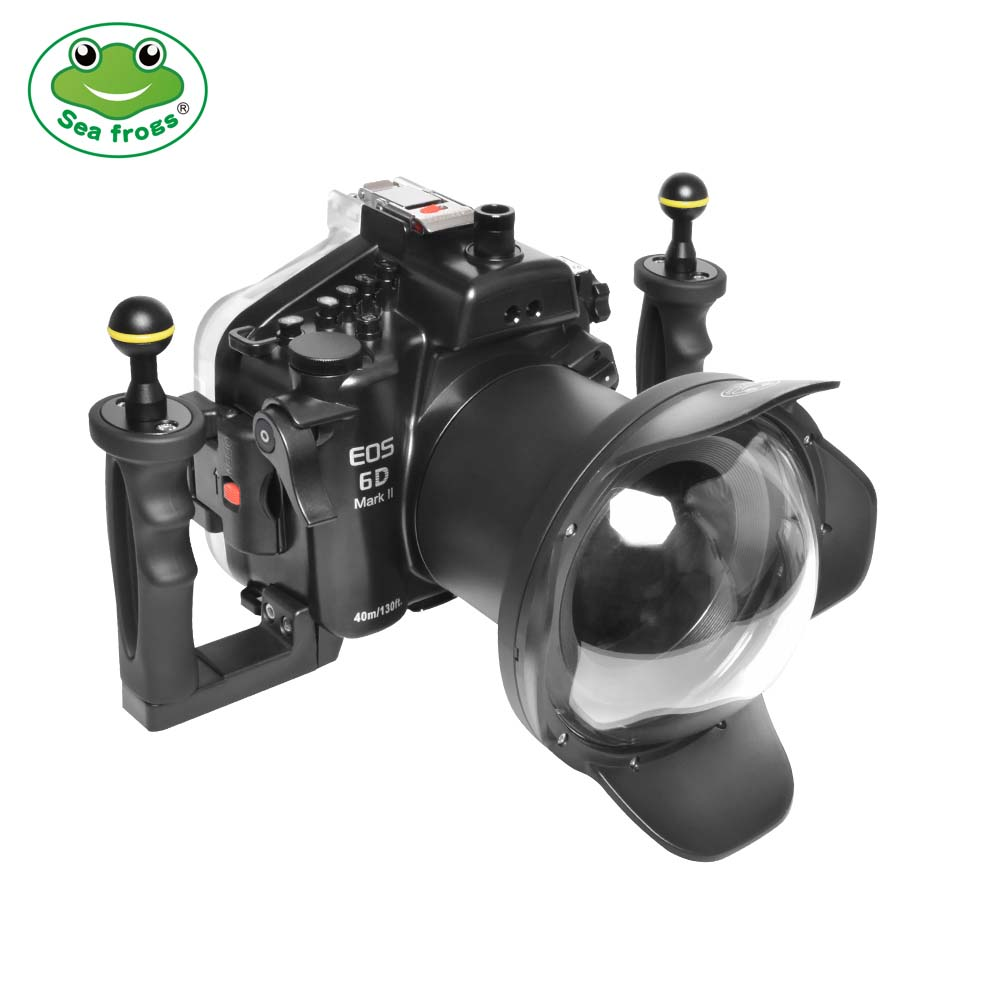 Seafrogs 6D Mark II + WDP155/106T1 подводный бокс для Canon 6D Mark II