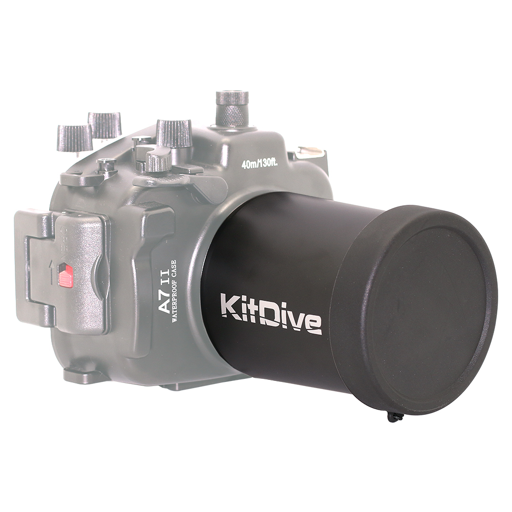 KitDive Macro Port 90 Type-2 for A7 II, макро порт 90 мм для A7 II под объектив SEL90M28G