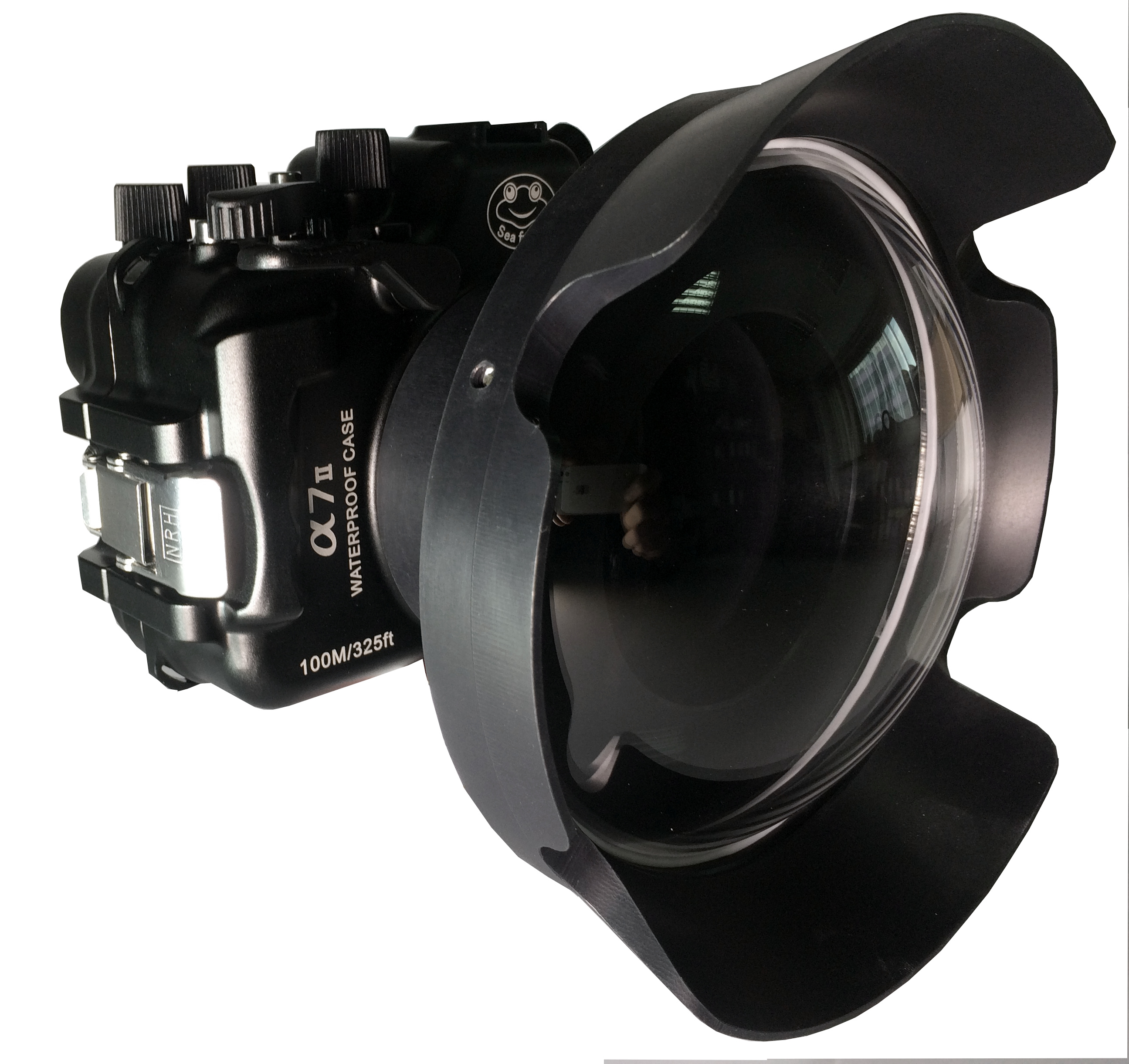 Sea Frogs A7 II alluminium Kit с портом Wide Dome Port 170 + Lens Hood 170  для Sony Alpha A7II