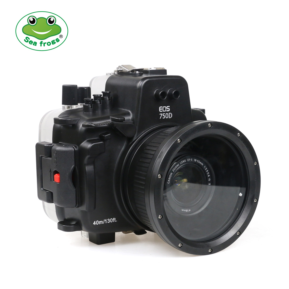 Sea Frogs 750D Kit с портом 18-135 для Canon EOS 750D EF-S 18-135